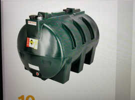 FREE CENTRAL HEATING PLASTIC OIL TANK