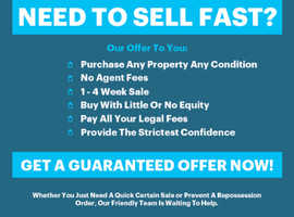 WE BUY HOUSES & LAND.....DON'T DELAY SELL TODAY!!!!!