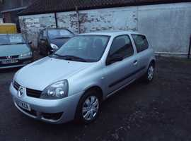 Renault Clio, 2007 (07) Silver Hatchback, Manual Petrol, 107,000 miles