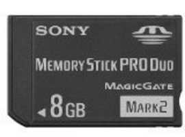 Sony Memory Stick Pro Duo 8GB Magic Gate Mark 2