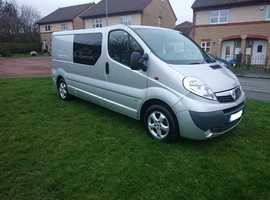 Vivaro campervan 4 berth Bespoke low mileage