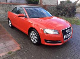 Audi A3, 2012 (62) Red Convertible, Manual Petrol, 91,319 miles
