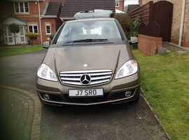 Mercedes A-CLASS, A180 2011 (60) brown hatchback, Cvt Petrol, 52,380 miles