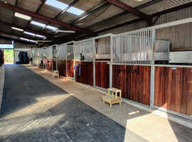 Full & Part Livery / Stables Available