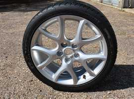 Brand new 18 inch alloy wheel for a Mazda