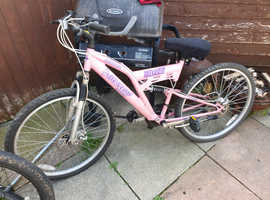 Ladies and Mens Mountain bikes for sale