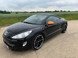 Peugeot RCZ GT Turbo. 2011 (11) Black Coupe, Manual Diesel, 128,922 miles