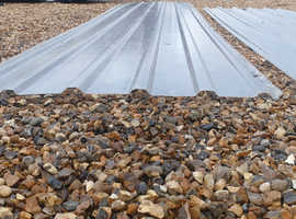 Fibreglass corrugated roofing sheets
