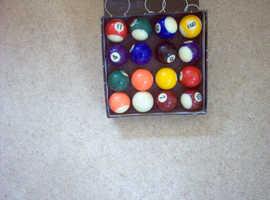 Pool Ball 16 Set.