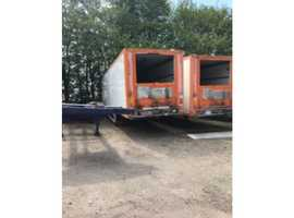 45ft fully insulated ex-refrigerated boxes (box only not chassis)