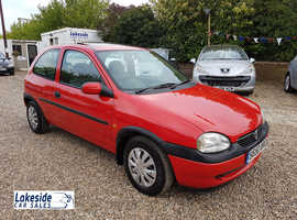 Vauxhall Corsa 3 Door Hatch, 1.5 Diesel/Manual, New MOT (No Advisories), 2 Lady Owners From New.