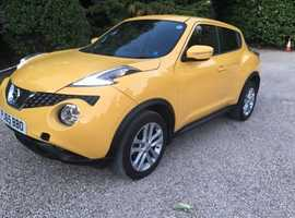 Nissan Juke 2015, 19000 miles, MOT 11/2020, perfect condition, one keeper