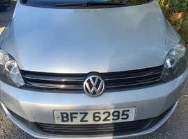 Volkswagen Golf Plus, 2010 (59) Silver Hatchback, Semi auto Diesel, 114,000 miles