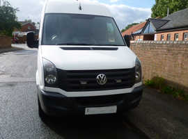 2014/64 CRAFTER CR35 TDi mwb NO VAT