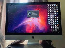 "Apple iMac 27"" 3.5Ghz Core i7, 24GB DDR3, Late 2013 model"