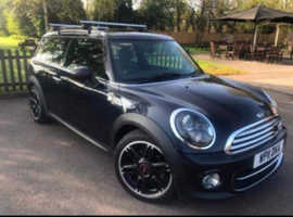 Mini MINI, 2011 (11) Blue Estate, Manual Diesel, 112,000 miles