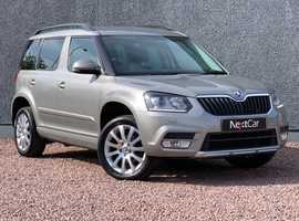2015 Skoda Yeti 2.0 TDI CR Elegance Gorgeous Example with Full Leather and Full Service History