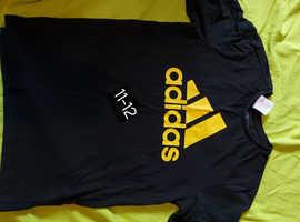 Boys Adidas & Nike clothing(tshirts, tracksuit tops & tracksuits) trainers