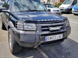 Land Rover Freelander, 2003 (03) Black Estate, Manual Petrol, 112,000 miles