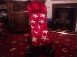 Babylon pushchair in red
