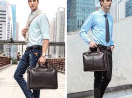 Fashion Cowhide Briefcase