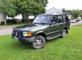 Land Rover Discovery, 1998 (S) Green Estate, Manual Diesel, 200,000 miles