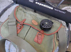 FLY FISHING ROD/TRAVEL ROD WITH REEL AND FLY LINE