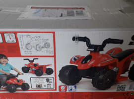 Childs 6 volt battery operated quad bike