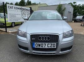 Audi A3, 2007 (07) Silver Hatchback, Manual Diesel, 136,000 miles