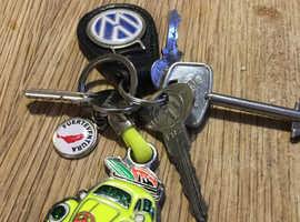 Vw keys found Isleworth