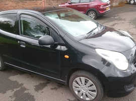 Suzuki Alto, 2013 (13) Black Hatchback, Manual Petrol, 59,600 miles