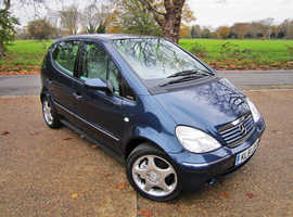 MERCEDES BENZ  A-CLASS 1- OWNER FROM NEW~A190 LWB AUTO~ FULL HIST~IMMACULATE!!