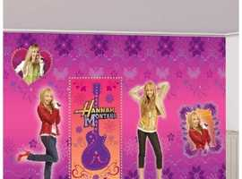 Hannah Montana Wall Decorations
