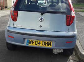 Fiat Punto, 2004 (04) Blue Hatchback, Manual Petrol, 113,670 miles