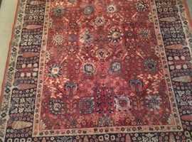 Quality Shah Abbas Belgian Rug (John Lewis)