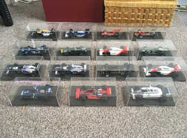 Joblot x14 Diecast 1:43  Formula One Cars - BOXED - RBA Atlas Collectible, Grand Prix