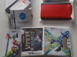 Nintendo 3ds XL with games