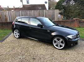 BMW 1 series, 2010 (60) Black Hatchback, Manual Diesel, 127,000 miles