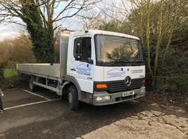 Cheap scaffold lorry Mercedes atego815 2004