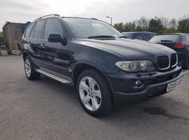 BMW X5, 2005 (55) Black Estate, Automatic Diesel, 155,387 miles