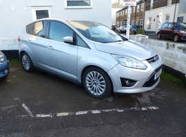 Ford C-Max, 2011 (11) Silver Hatchback, Manual Petrol, 78,642 miles