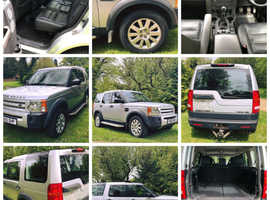 Land Rover Discovery, 2005 (05) Silver Estate, Manual Diesel, 104 miles WITH EXTRAS!