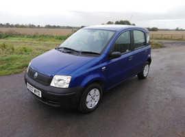 Fiat Panda, 2007 (07) Blue Hatchback, Manual Petrol, 62,000 miles