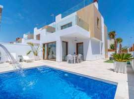 New Villas For Sale in Alicante, Spain