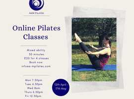Online Pilates Classes taught by local West End dancer
