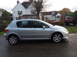 PEUGEOT 307 1.6 HDI 10 MONTHS MOT ONE OWNER SINCE 2010 CHEAP CAR TO RUN VERY RELIABLE