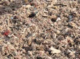 Loose carpet fibre
