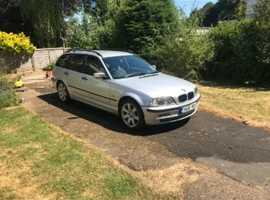 BMW 3 Series, 2000 (X) Silver Estate, Manual Diesel, 180,000 miles