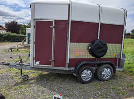 Ivor Williams 505 horse trailer just undergone complete overhaul