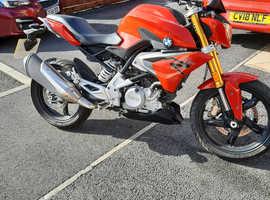 2019 BMW 310r motorbike only 600miles